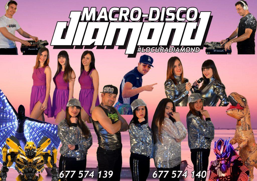 Macro Discoteca DIAMOND - componentes